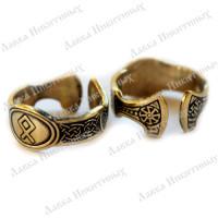 Кольцо с руной Одал