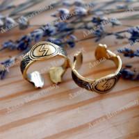 Кольцо с руной Соуло