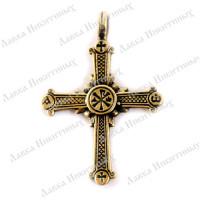 Крест с хризмой